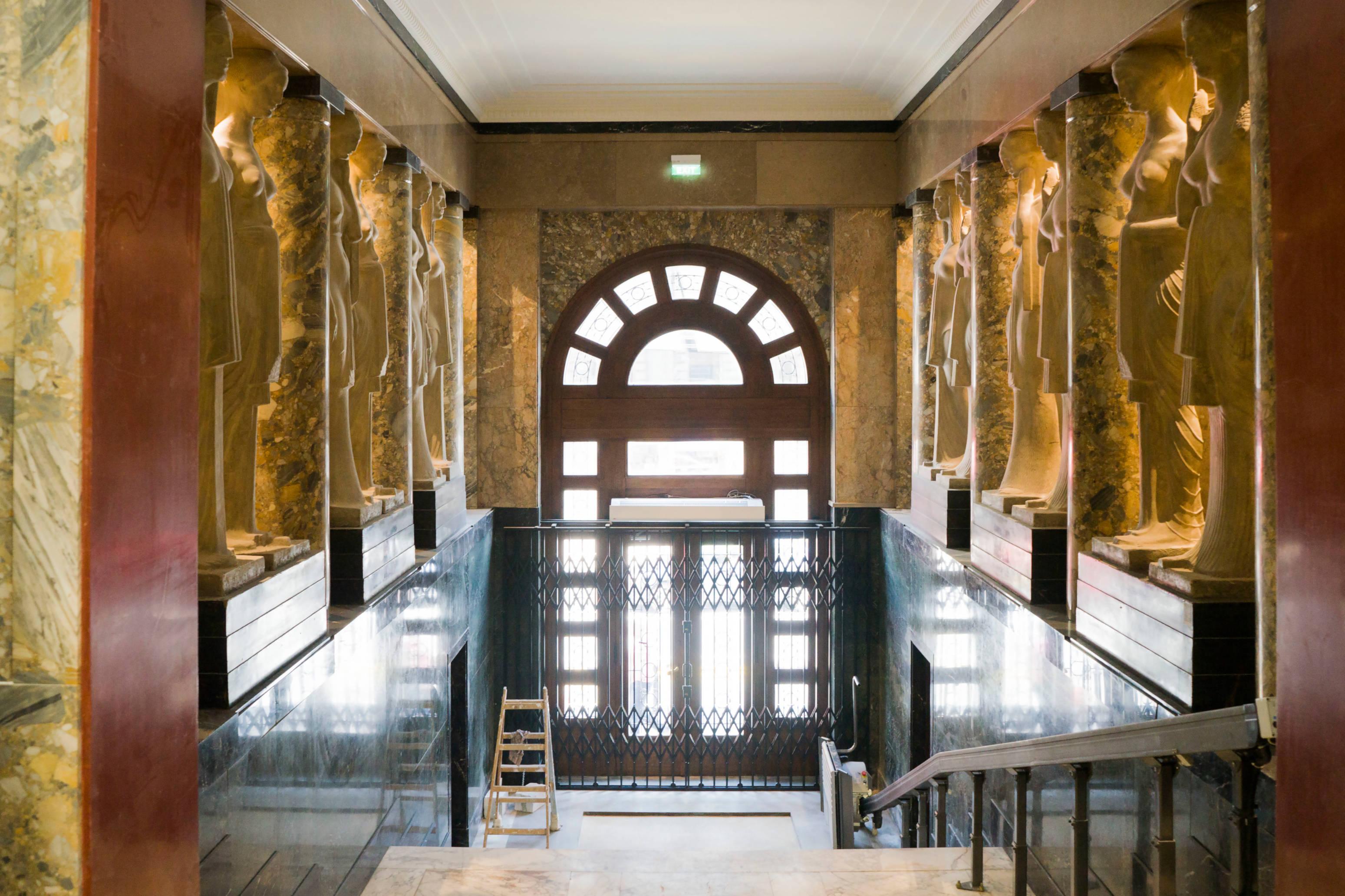 Go to Народни музеј уочи отварања