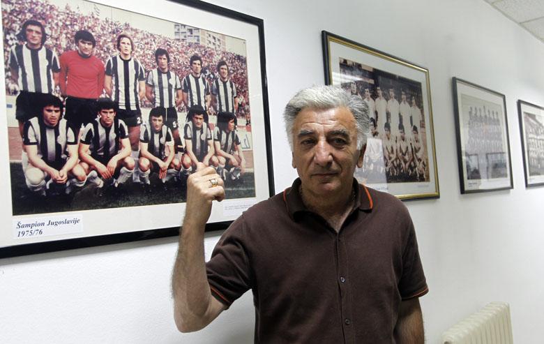 Go to Fudbalske legende: Moca Vukotić