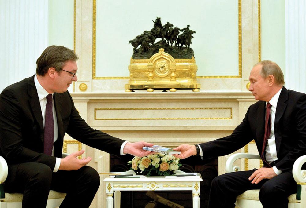 Go to Нови сусрет председника Вучића и Путина