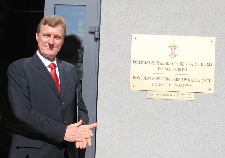 Go to Ранко Томовић, почасни конзул Србије у Пољској
