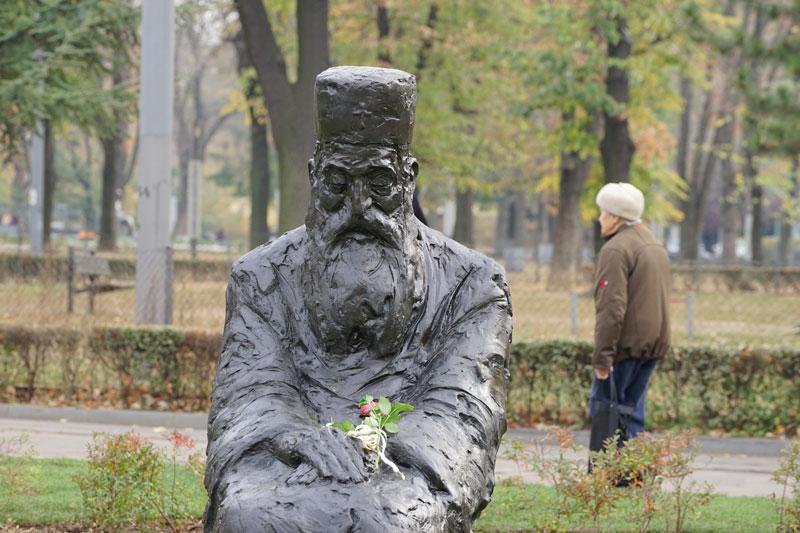Go to Споменик патријарху Павлу – говорио је у пословицама