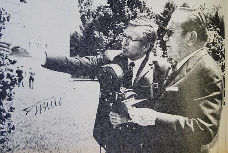 Go to Човек који је три деценије снимао тита и филмске новости: С камером кроз свет