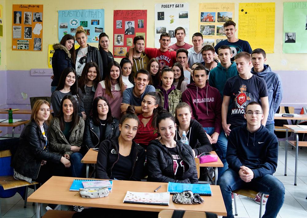 Go to Ученици трећег један десете београдске Гимназије положили најважнији испит