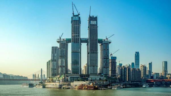 Go to Нова атракција у Кини: лајт шоу са Небеског моста