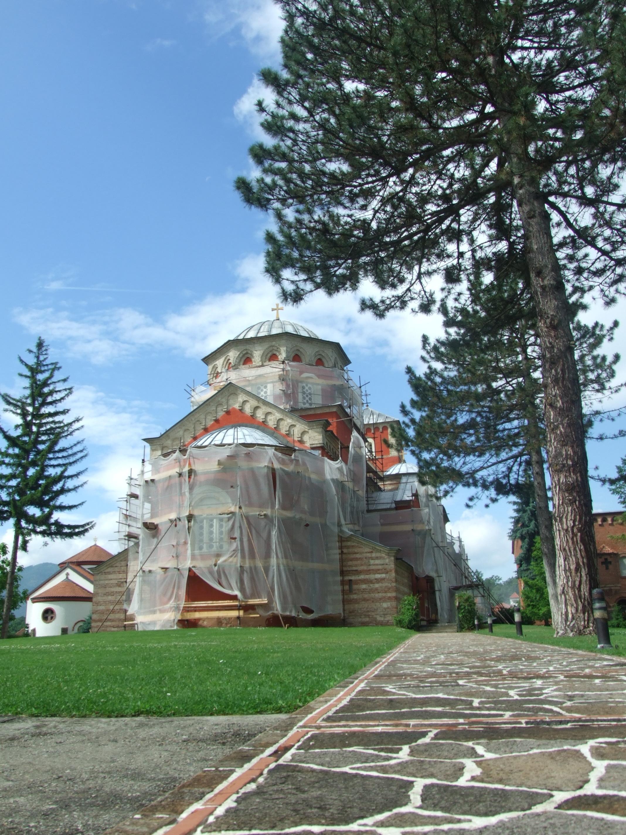 Go to Ново лице манастира Жиче
