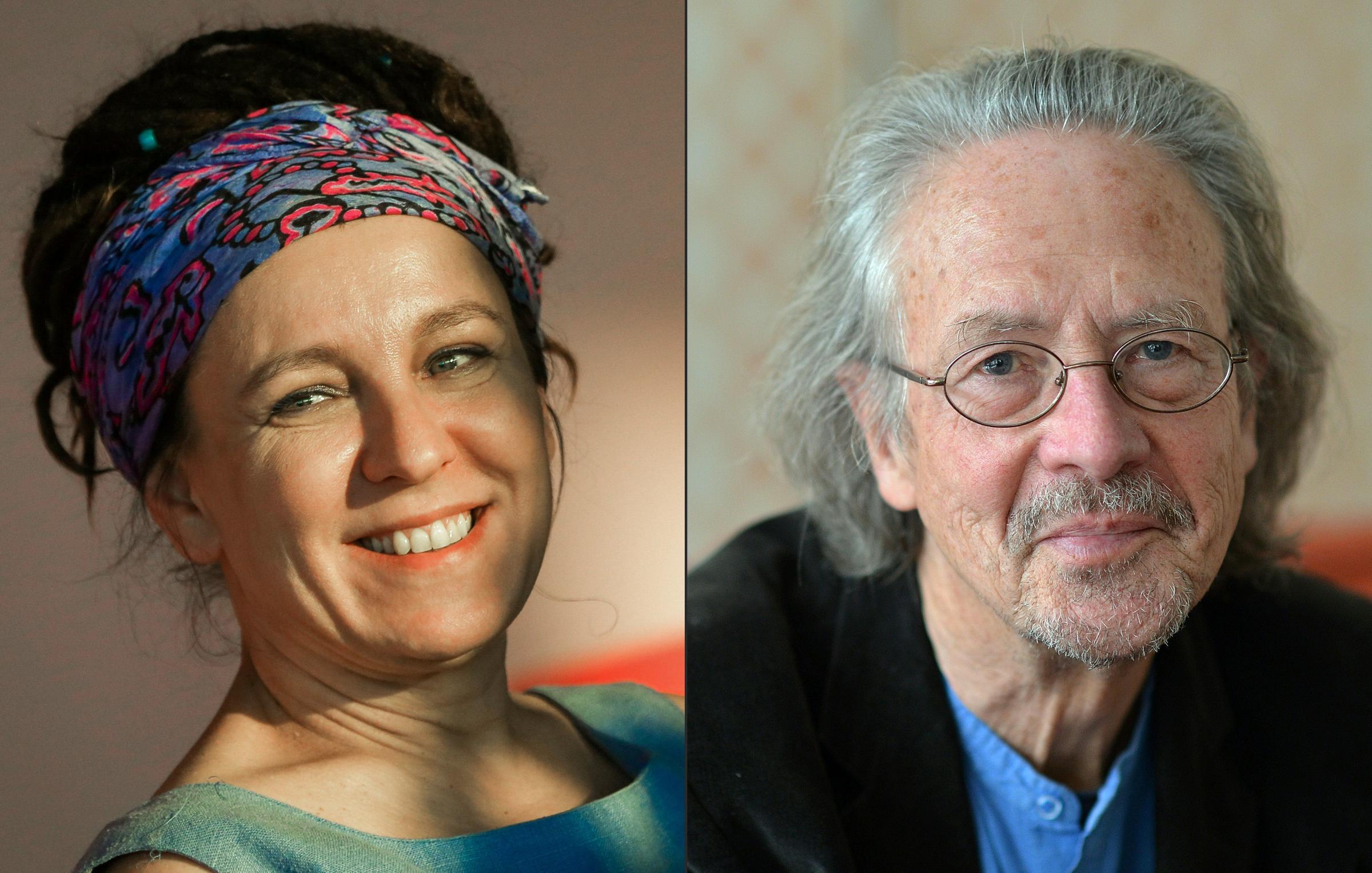 Go to Нобелови лауреати: Oлга Tокарчук и Петер Хандке