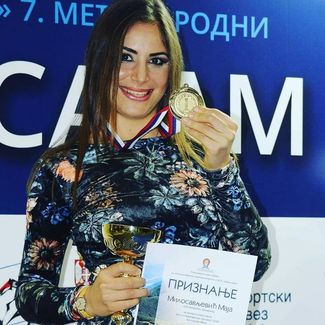 Go to Atletičarka Maja Milosavljević: maraton je moja filozofija