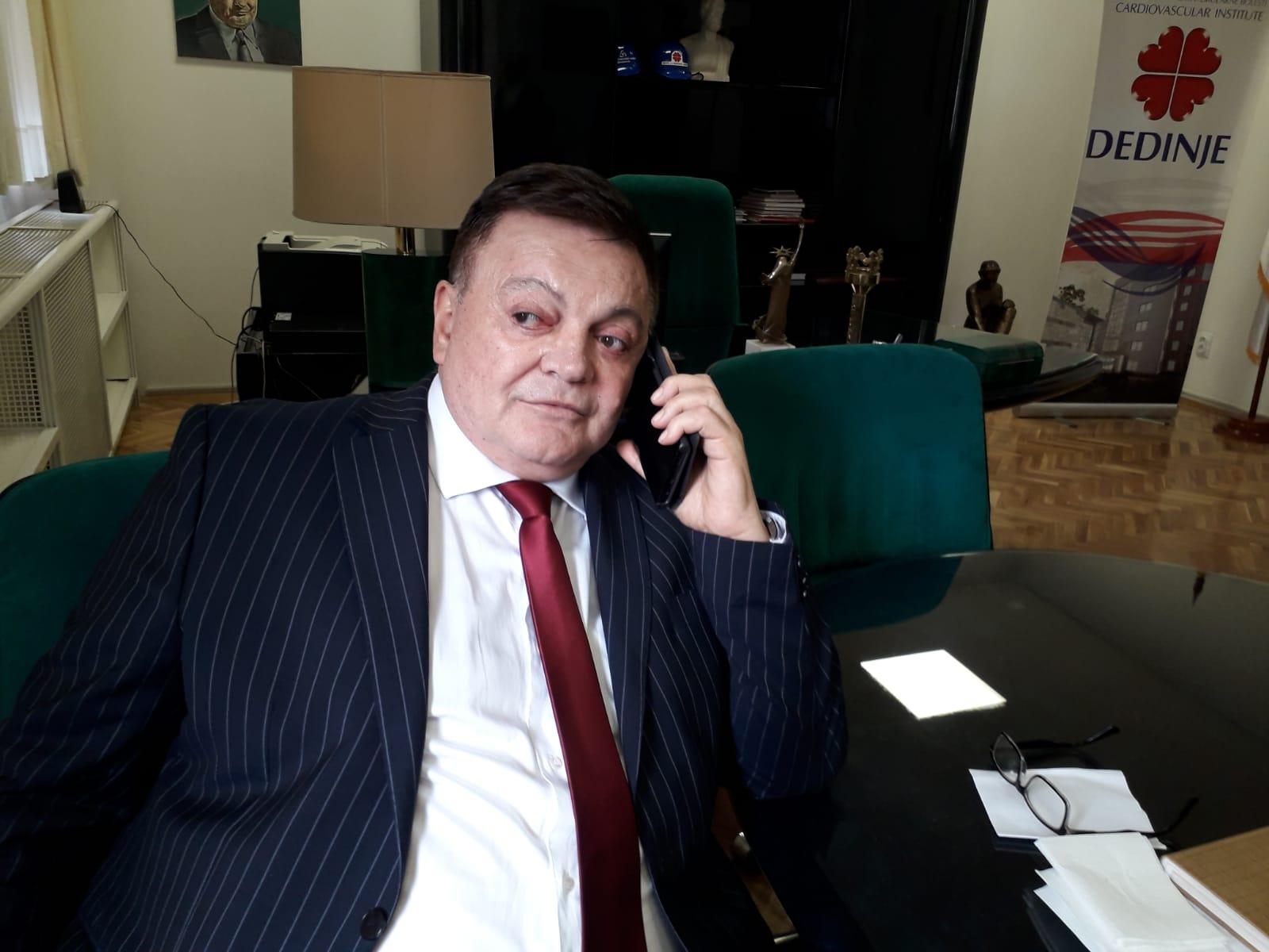 """Go to Ексклузивно са института """"Дедиње"""": др Бојић о новим пројектима"""