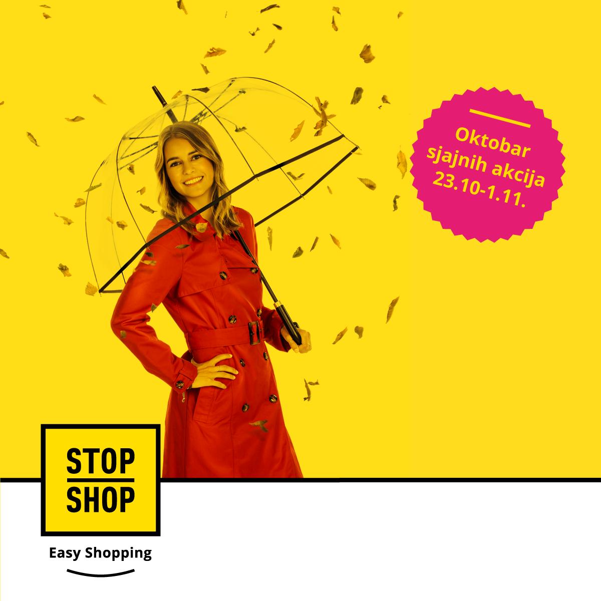 Go to STOP SHOP: Zeleni i Narandžasti šoping vikendi u bezbednom okruženju