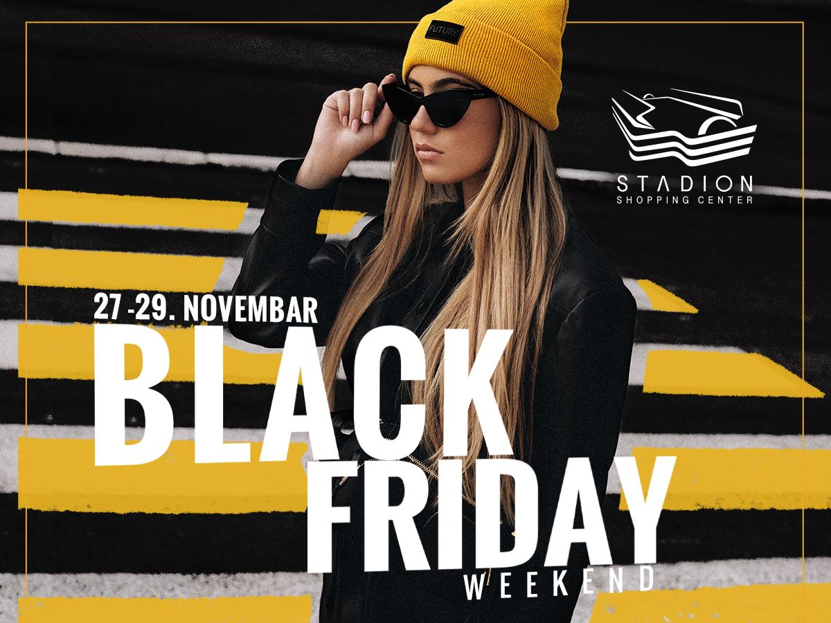 Go to Neverovatno iskustvo šopinga <br> Black friday u šoping centru Stadion!