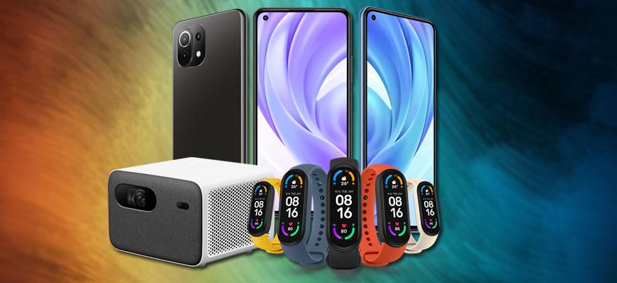 Go to Mi 11(i) / Ultra / Light, pametan sat i projektor <br> Nova pojačanja flegšip serije Xiaomi telefona