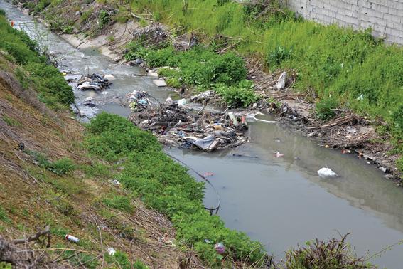 Go to ОД ВАЗДУШНЕ БАЊЕ ДО ЕКО КАТАСТРОФЕ <br> Мирјевски поток претворен у депонију