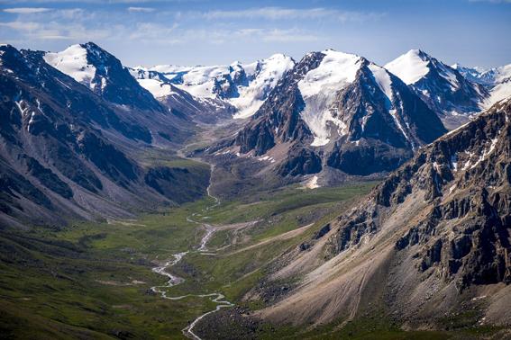 Go to Казахстану у походе <br> Фасцинантни планински венац Алатау